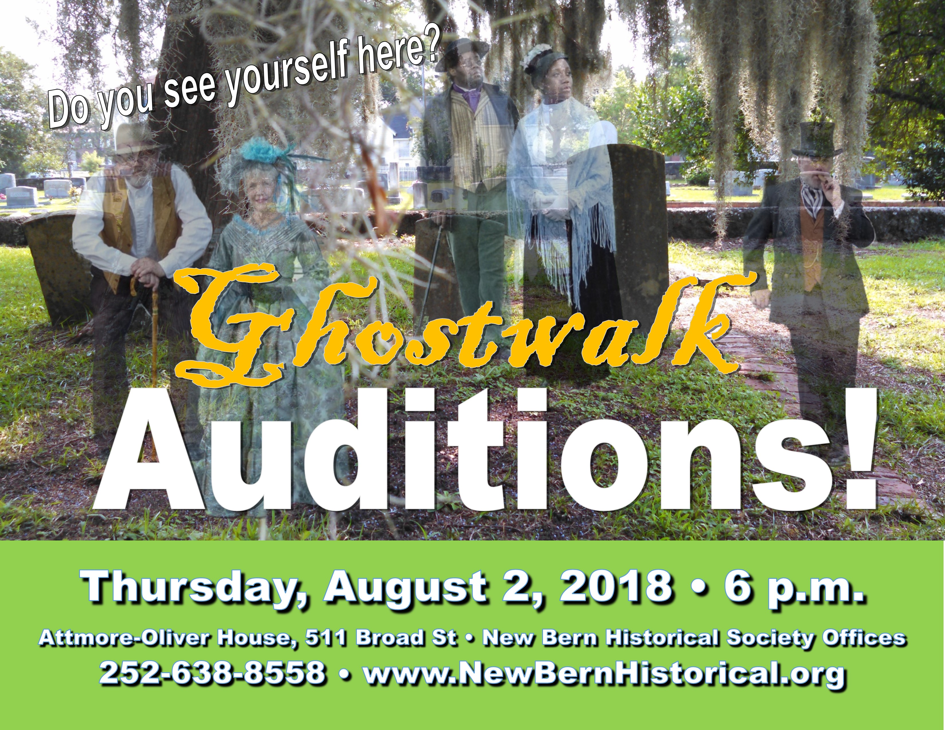 Ghost Auditions Horizontal