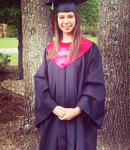 Stacy Partin 2015 Marks Scholar