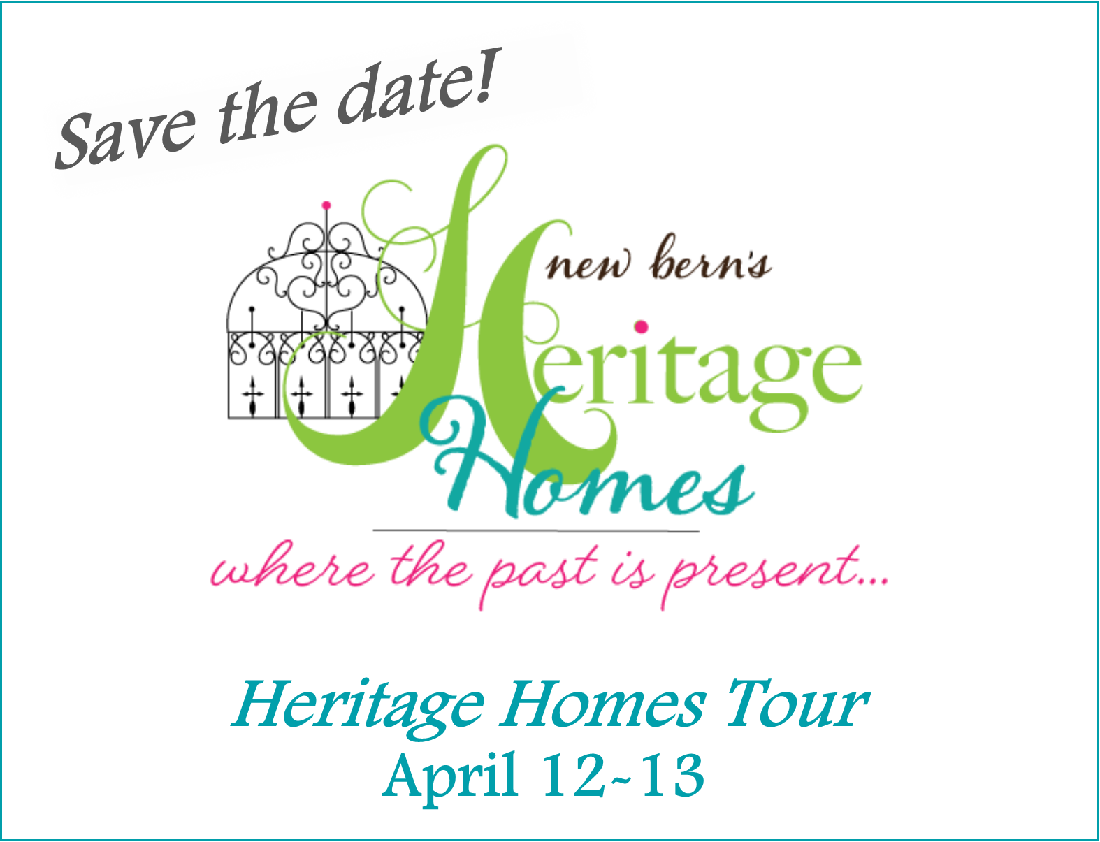 HHT save date website