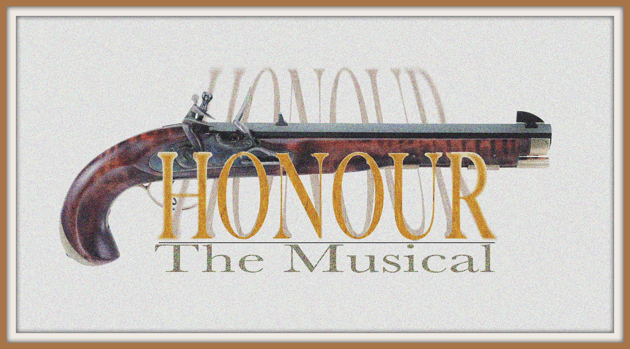 Honour The Musical cover art framedFINAL