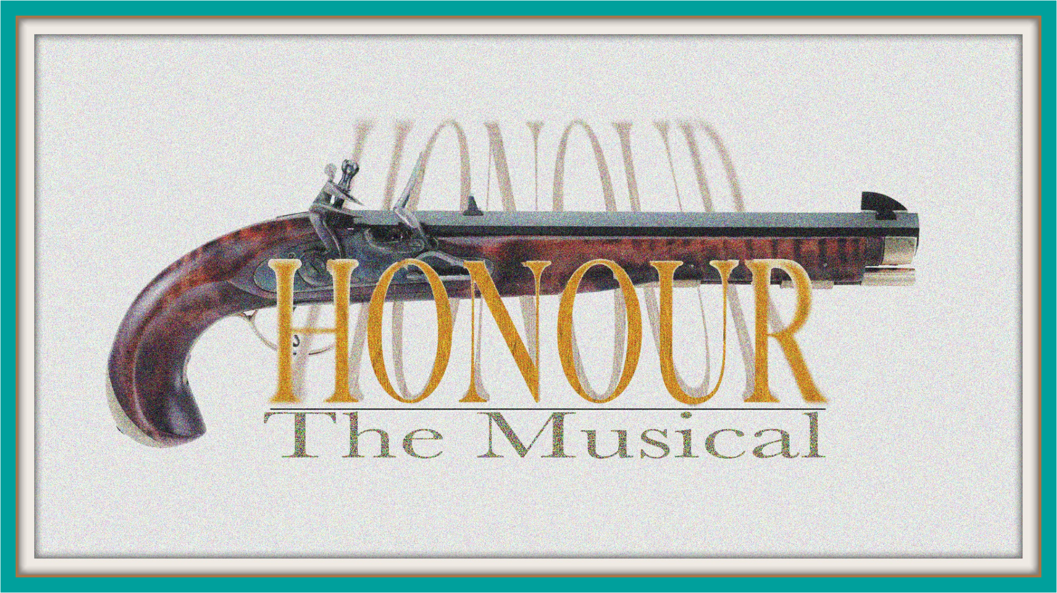 Honour cover art w teal border