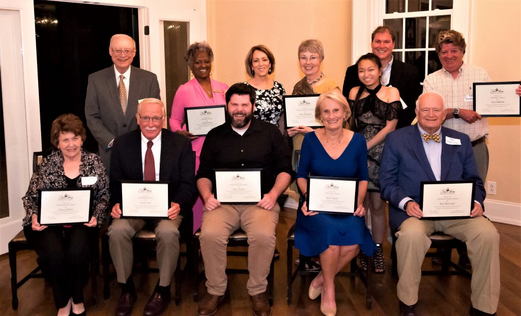 Group photo awardees