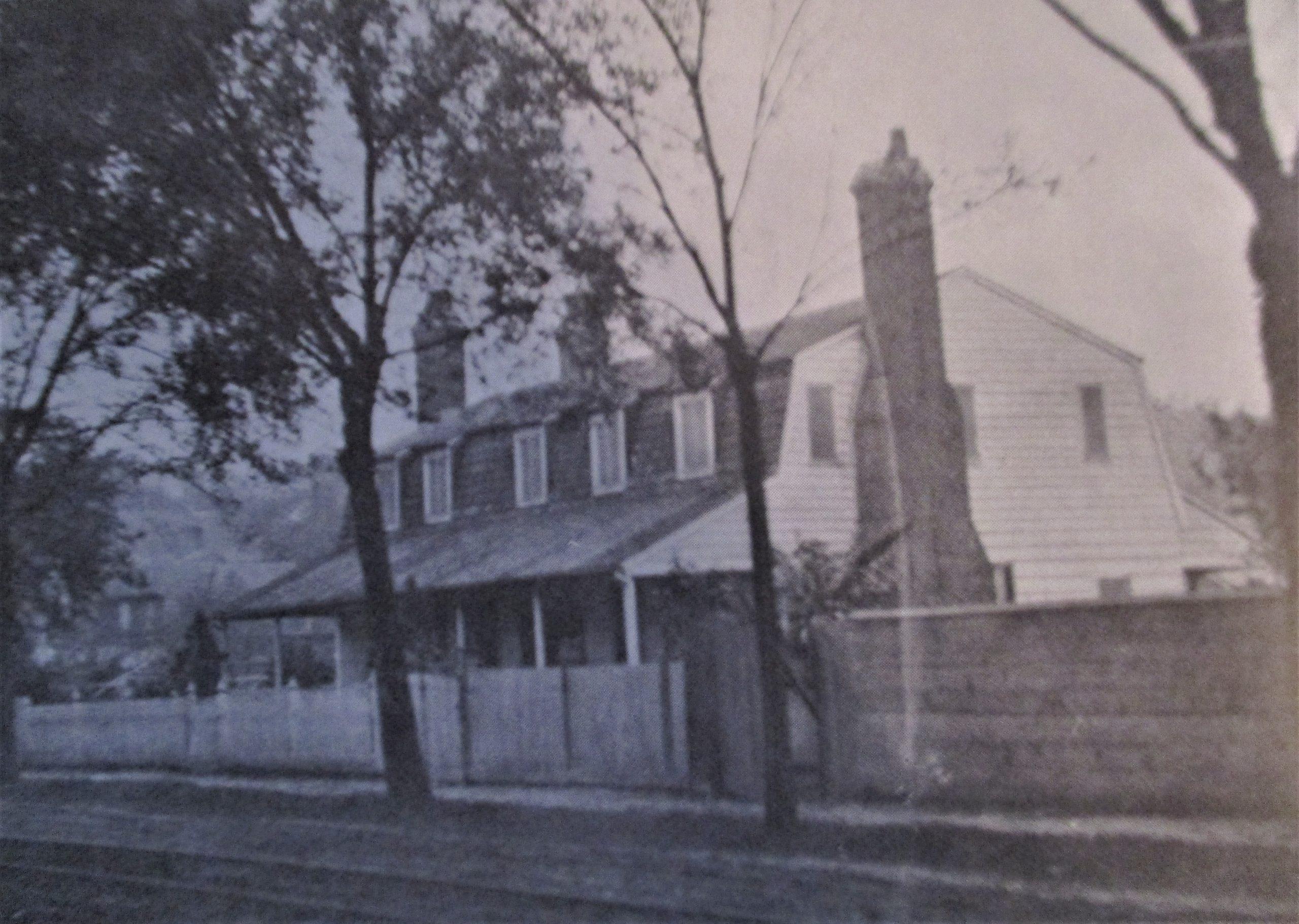 Hawks House ca 1864