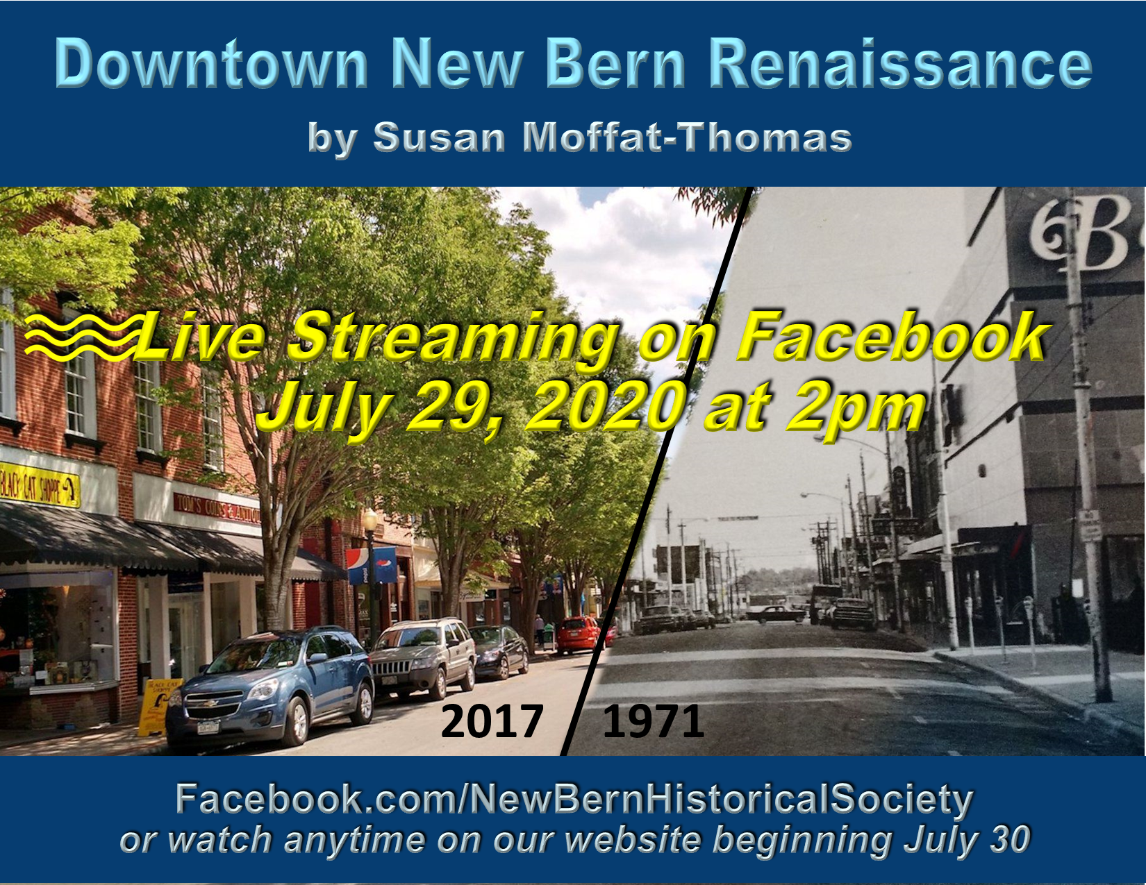 Downtown Renaissance livestream for website