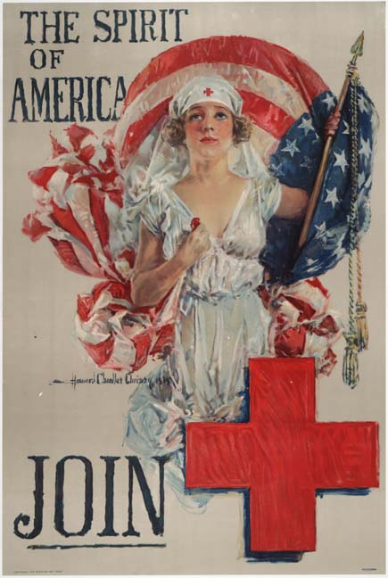 wwi poster spirit of america